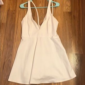 Lulus White Homecomign Dress, Size XL